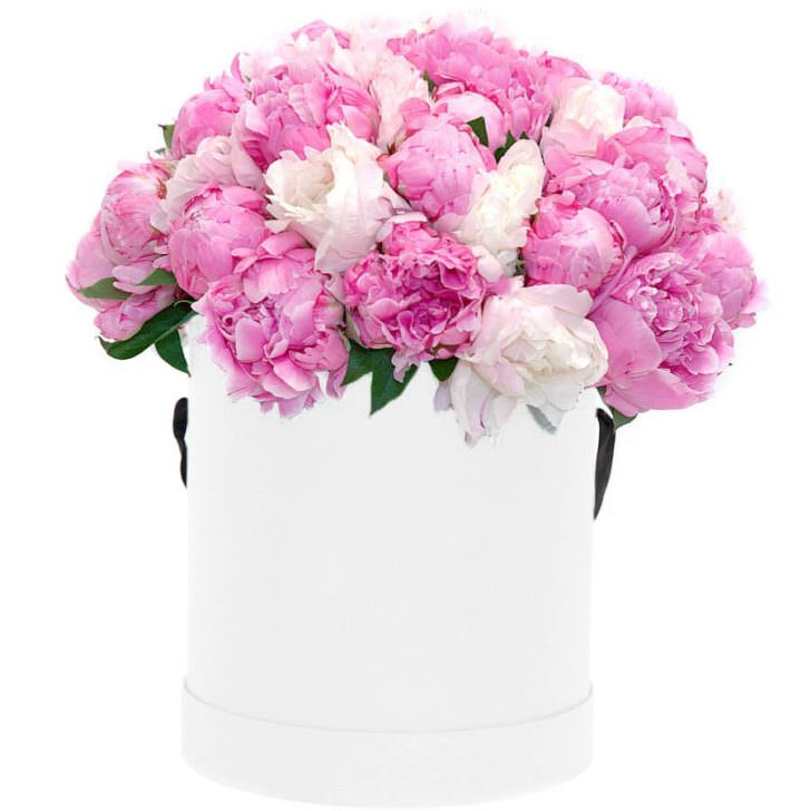 """Цветы в коробке """"Свет души"""""""
