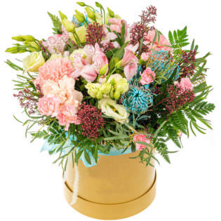 Цветы в коробке «Летний день»