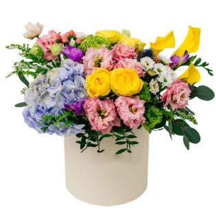 Цветы в коробке «Начало»